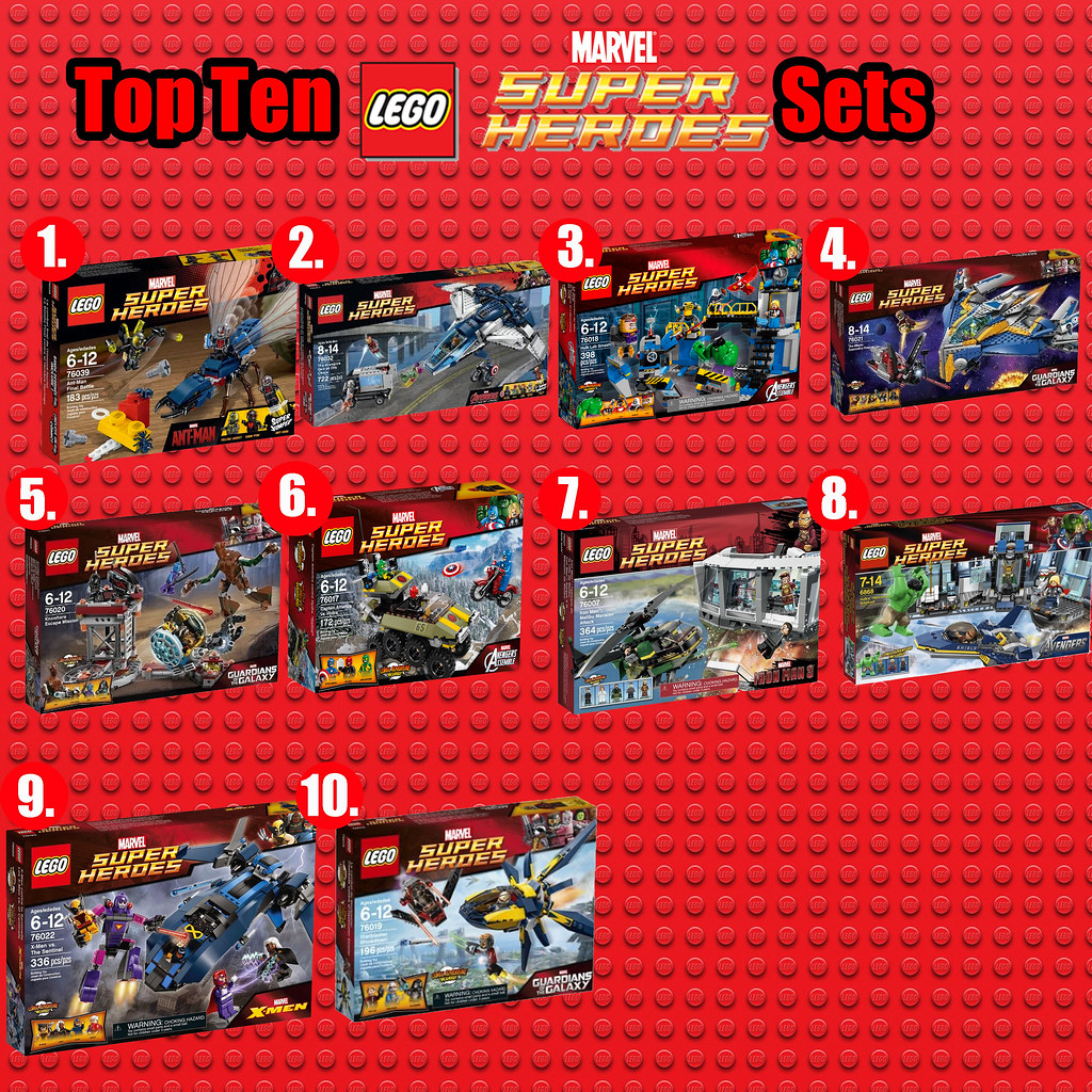 Top Ten Lego Marvel Sets Here Are My Ten Favorite Marvel