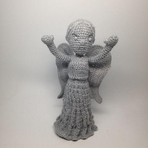 Doctor Who Crochet Amigurumi from CraftyIsCool - Weeping Angel