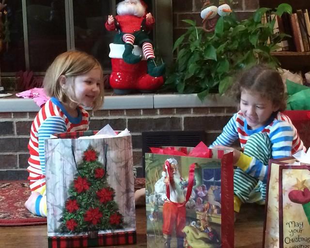 School Christmas Party's and Kiki's 201436