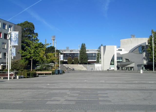Lorient Town Square, Theatre and Stadium