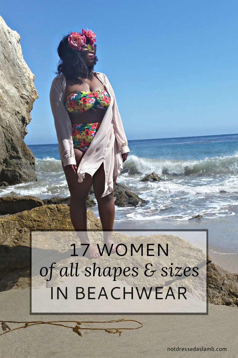 17 Women of All Shapes, Sizes and Ages Wearing Bikinis, Swimsuits and Cover Ups Not Dressed As Lamb, over 40 style blog