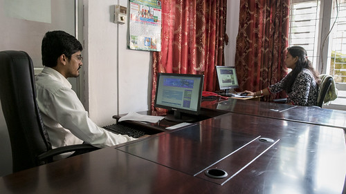 Employees Work on Nepal Trade Information Portal | by World Bank Photo Collection