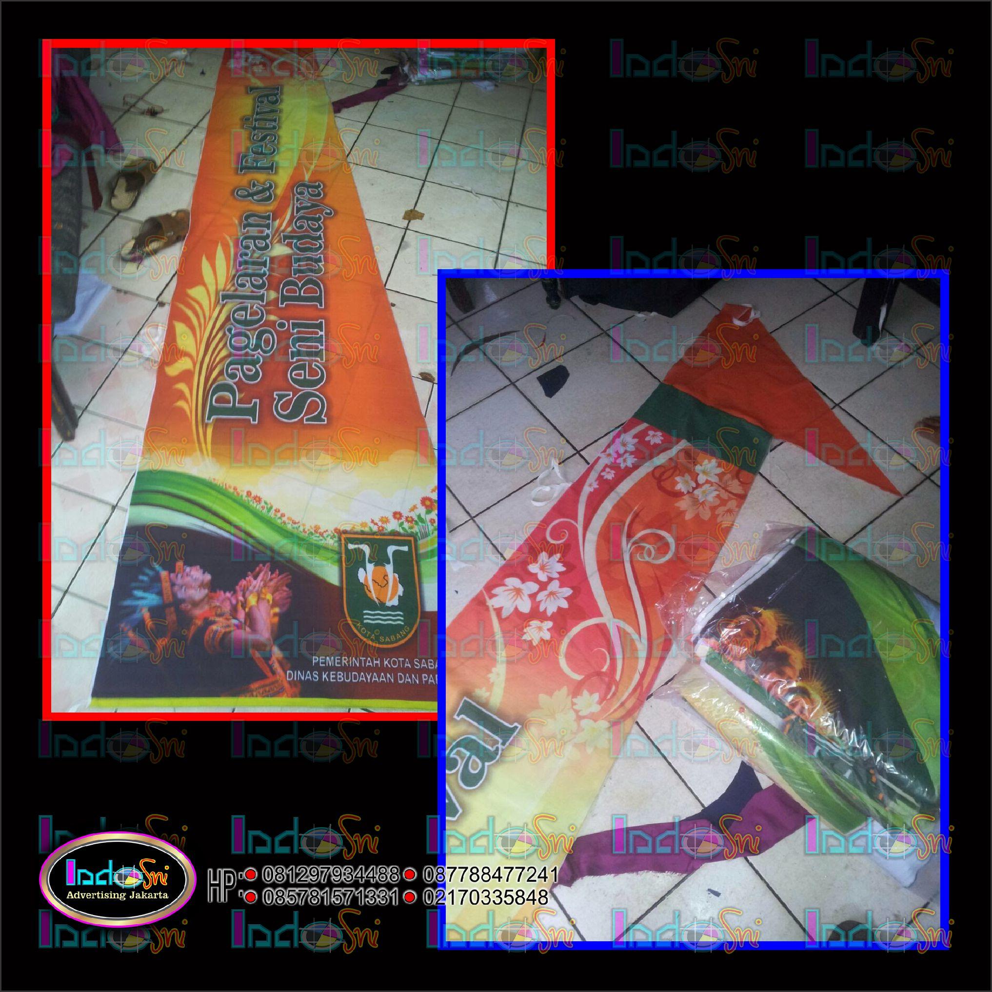 Design Gratis Umbul-umbul Kain Tetoron Digital Printing