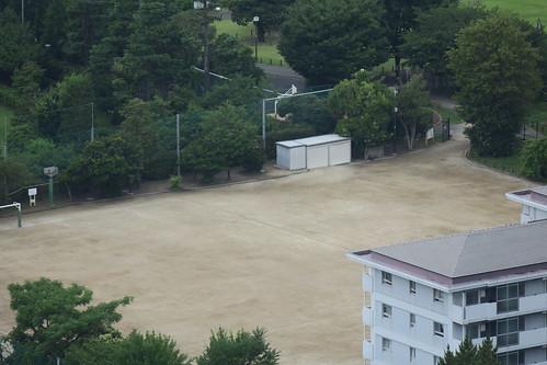 比較用画像:G3X - 恵比寿ガーデンプレイスタワーから見下ろす