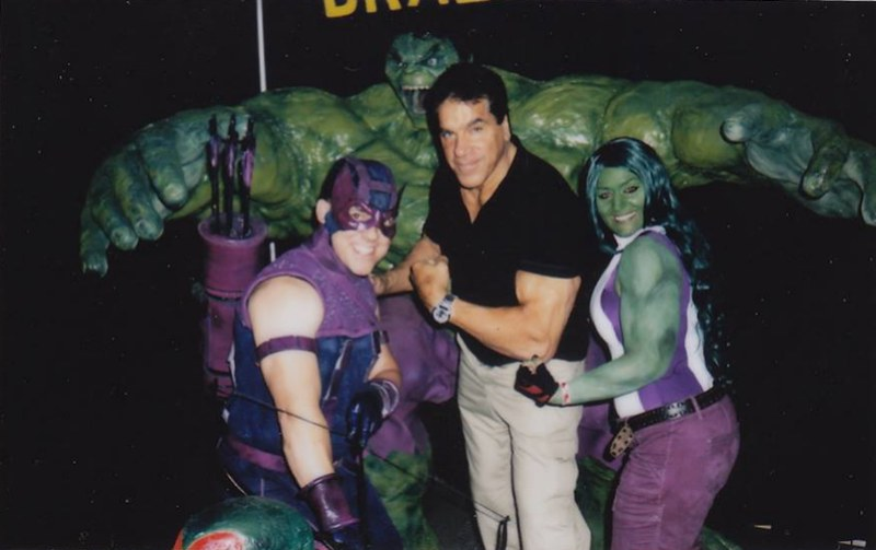 BrazenMonkey costume design and sculpting by John Marks - Lou Ferrigno
