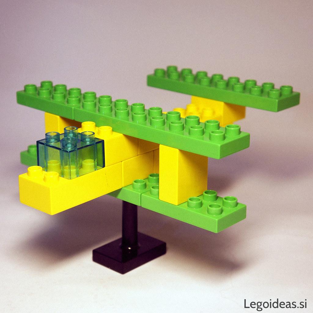 lego duplo biplane a simple lego duplo biplane idea lego ideas flickr. Black Bedroom Furniture Sets. Home Design Ideas