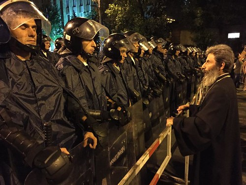 Police at #ElectricYerevan