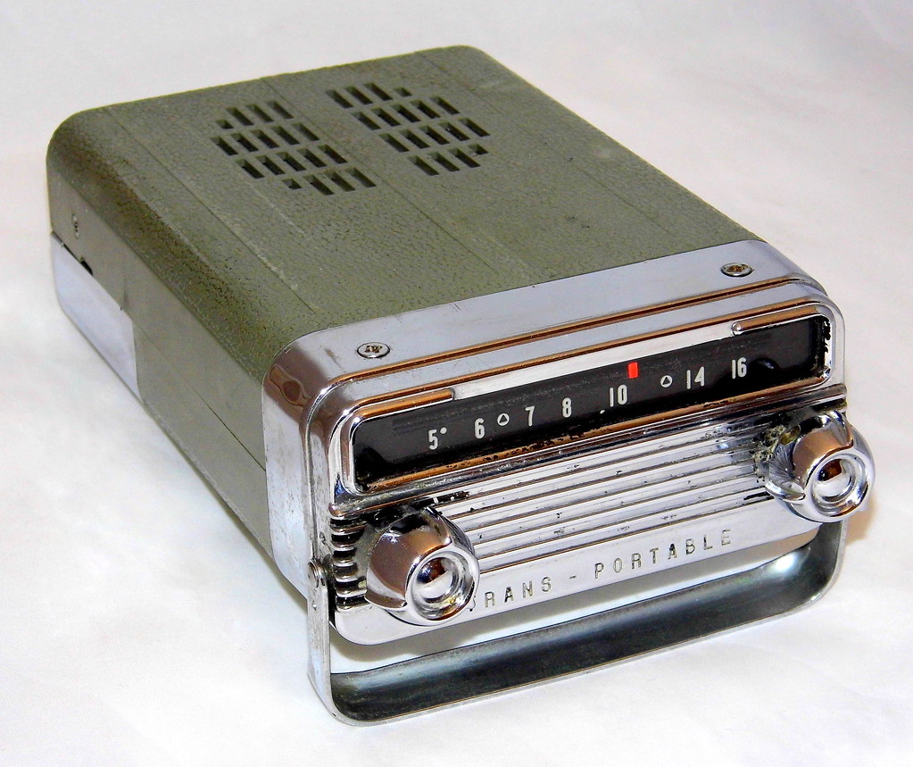 Used Car Batteries >> Vintage 1958 Oldsmobile Trans-Portable Car Radio By Delco,… | Flickr