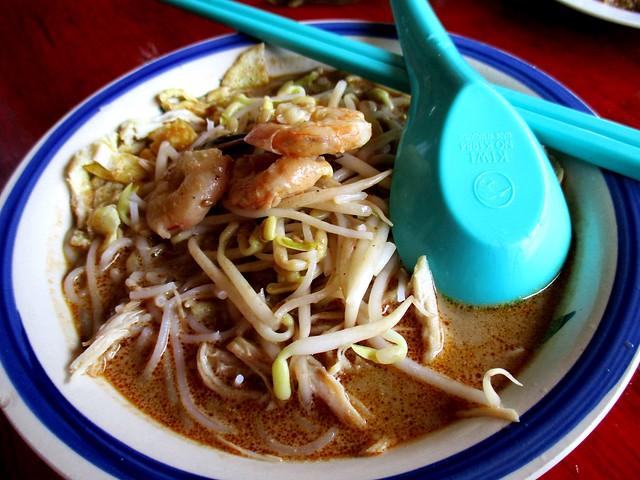 Sibu Bus Terminal Food Court Sarawak laksa 1