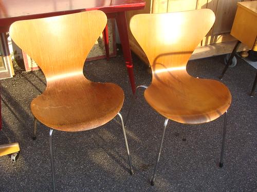 Arne Jacobsen Stuhl 7 Vintage Speyer Daniel Hakola