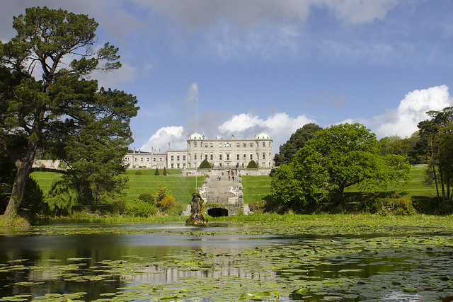 Triton Lake and Powerscourt House