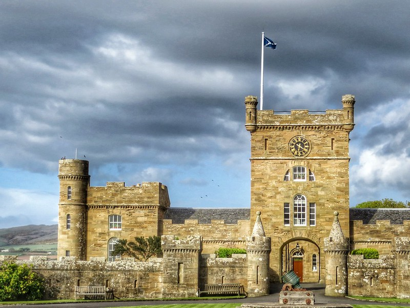 Sunsets and Sleepovers: Spending the Night in a Scottish Castle