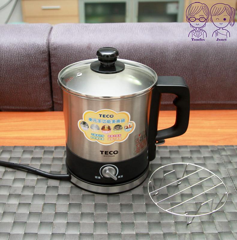 18 TECO東元304不鏽鋼快煮美食鍋