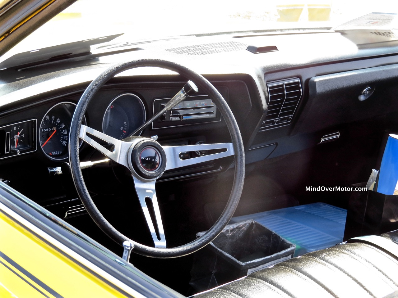1973 Buick Skylark GS Stage 1 Interior