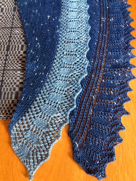 Indigo scarf 3