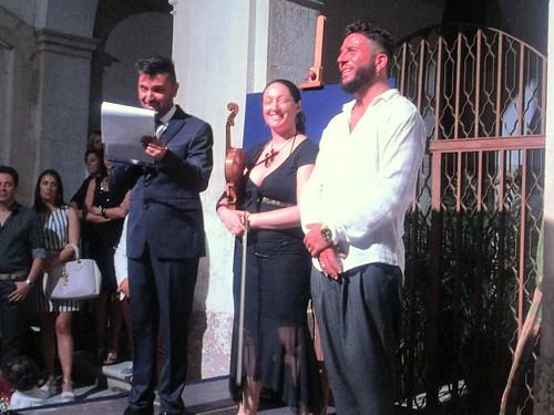 Giuseppe Stigliano, Giovanna Lisi e Michele Jamil Marzella