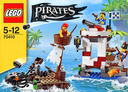 LEGO Pirates 70410 Soldiers Outpost box02