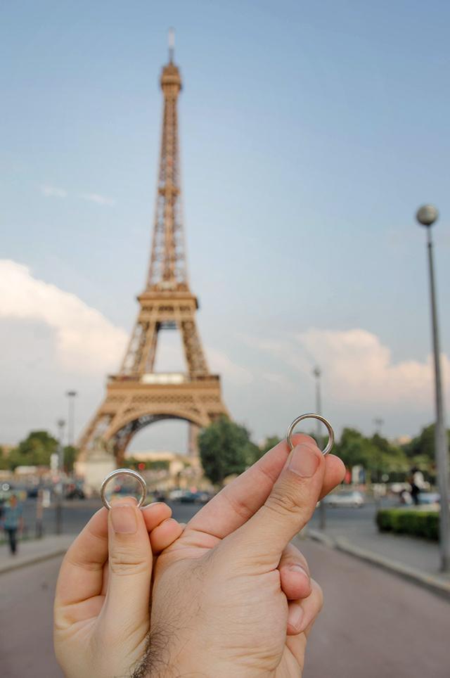 Pedida en París