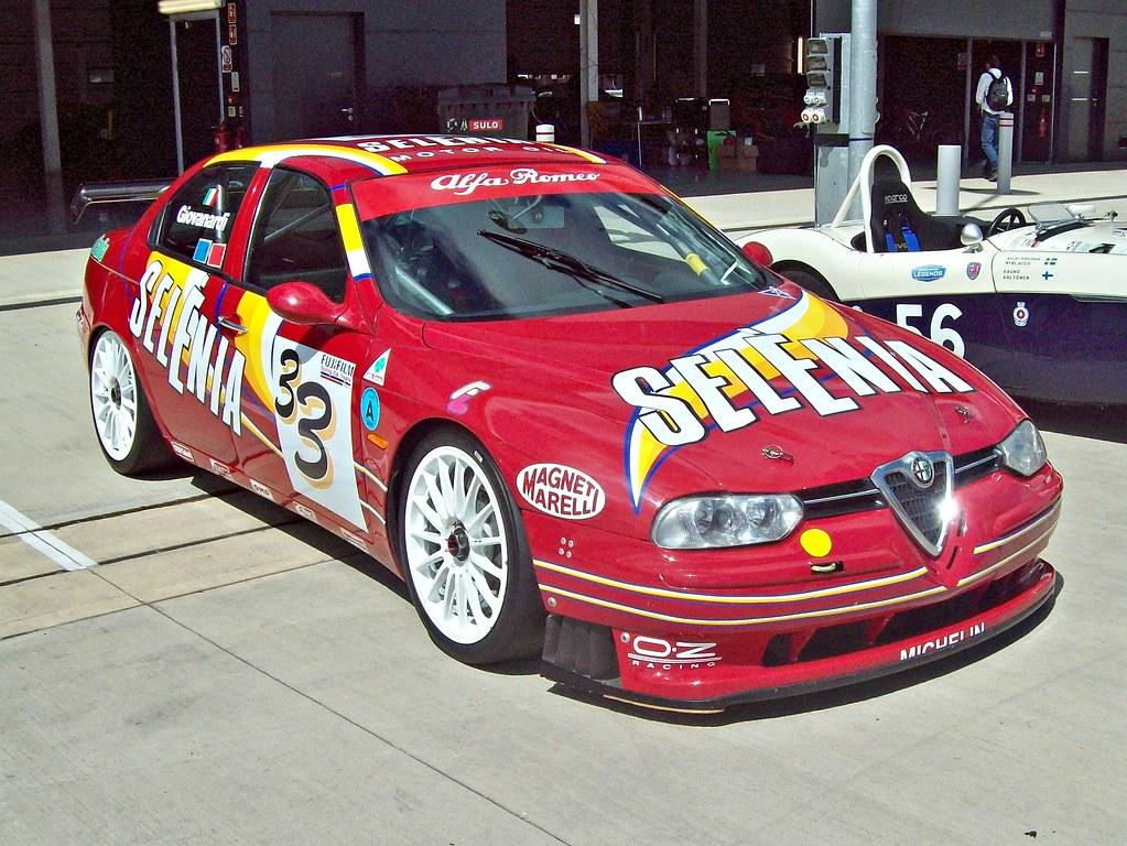 Alfa Romeo 156 Btcc Super Touring Car: 37 Alfa Romeo 156 D2 Super Touring (1998)