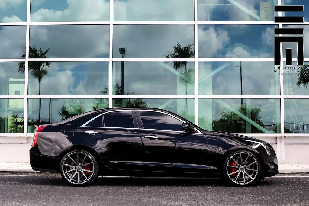 Cadillac Ats Vfs1 Graphite 169 Vossen Wheels 2015