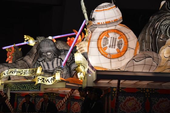 Aomori Nebuta Festival Japan - Star Wars Floats