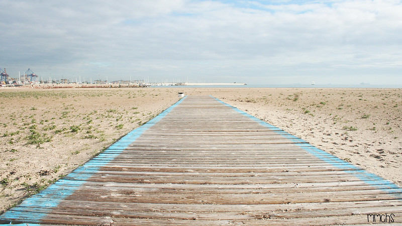accesos playa