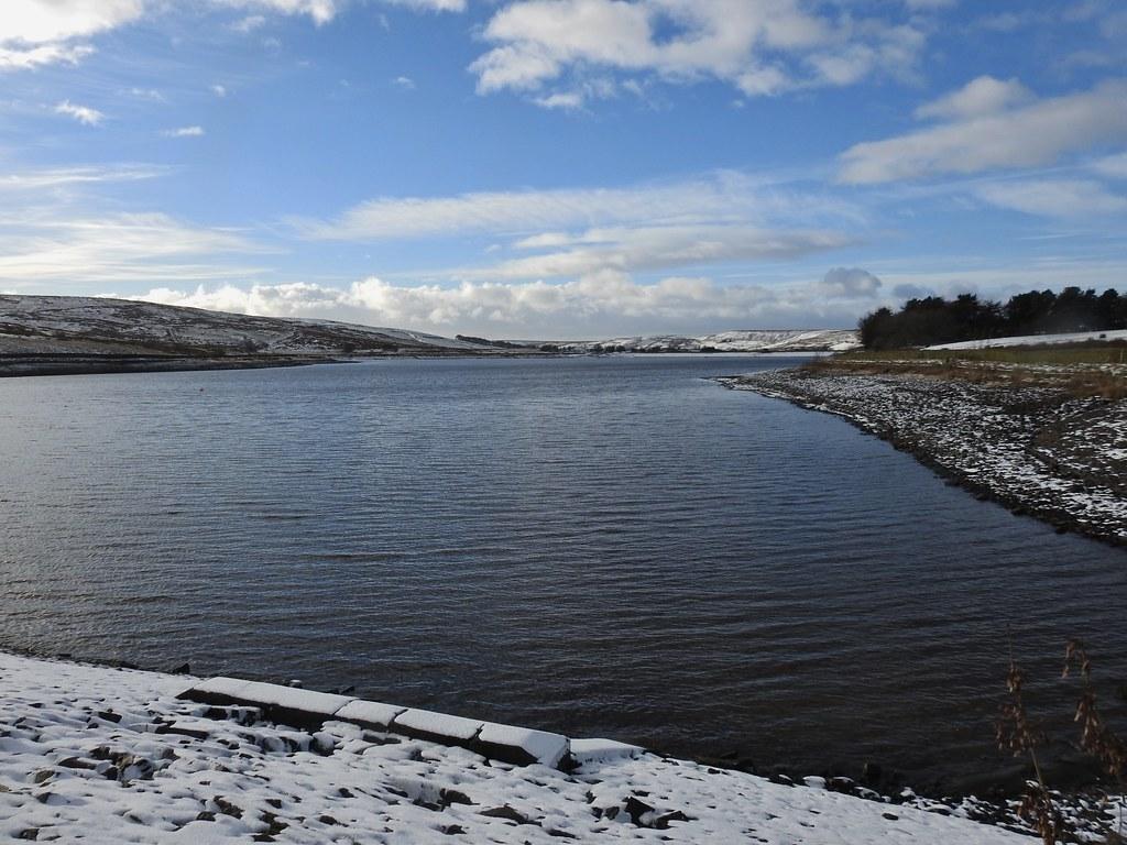 Clowbridge Reservoir near Burnley, Lancashire, England - J ...