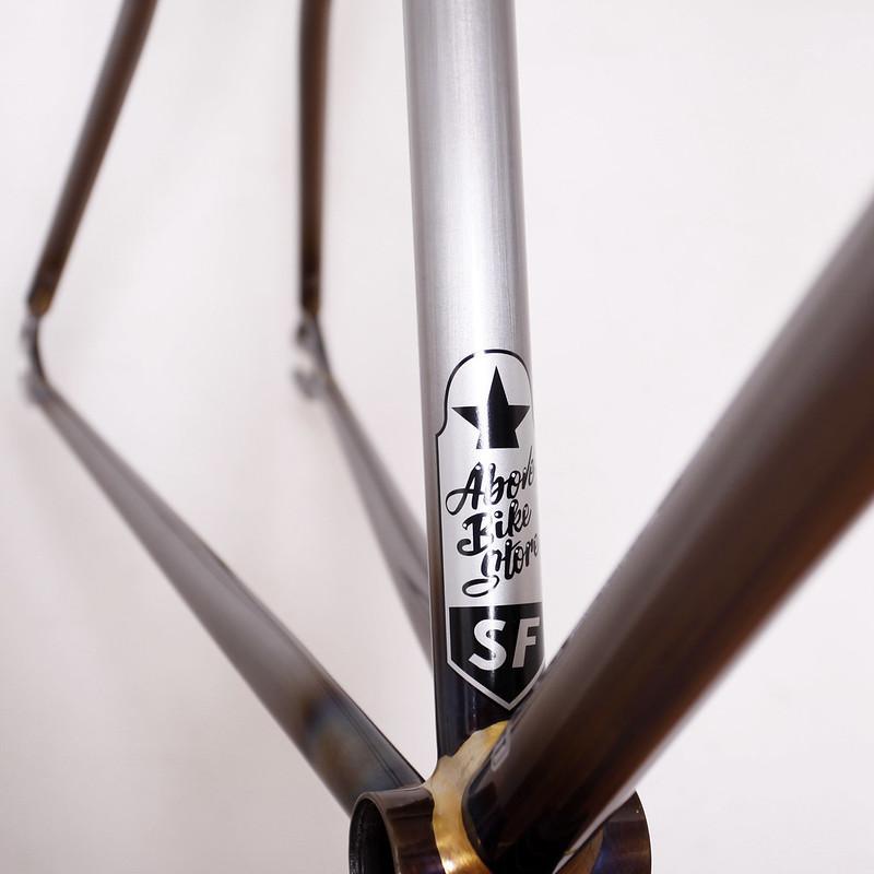Handmade in Kanagawa JAPAN Steel Era Frame Painted by Swamp Things