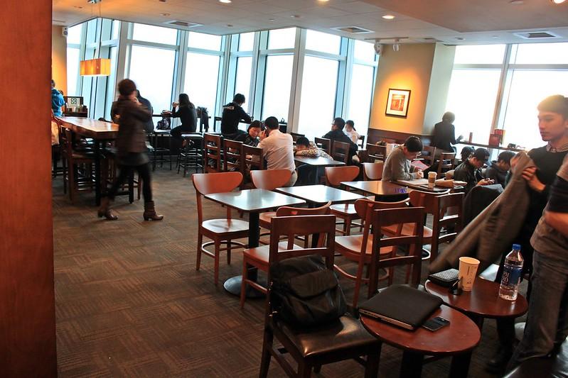 Starbucks統一星巴克-省錢上101高樓-台北景色咖啡館  (9)