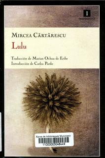 Mircea Cartarescu, Lulu