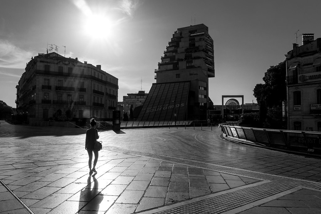 Morning, Montpellier.