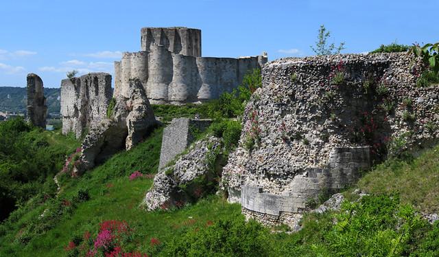 Chateau Gaillard Ruins
