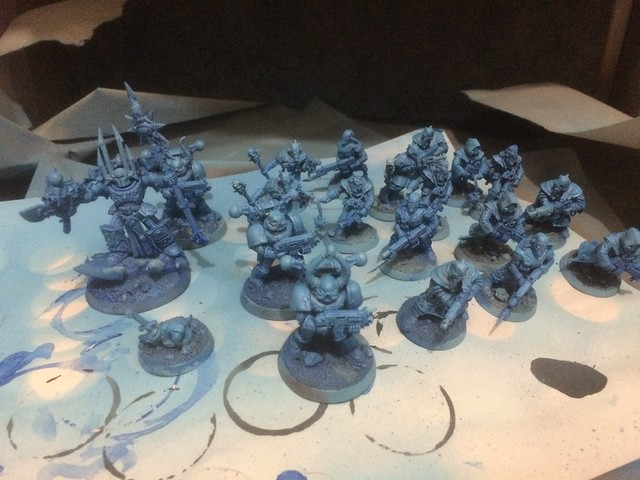 Chaos Cultists and Chaos Lord WIP - Assassinorum Execution Force