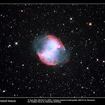 NGC6853 The Dumbbell Nebula 27 Jun 2015 (TIF)