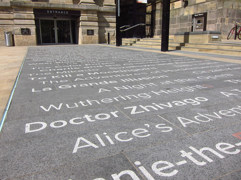 Liverpool Library entrance