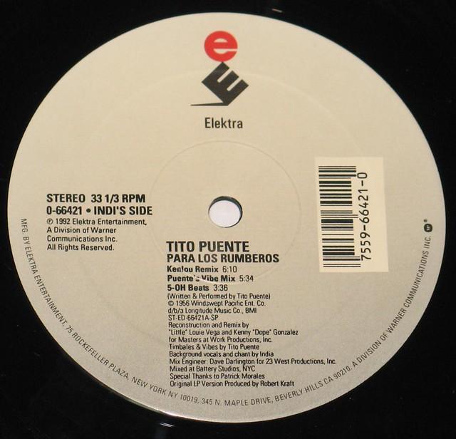 Tito Puente The Mambo Kings Remix Para Los Rumberos / Ran Kan Kan