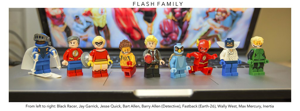 Dc The Flash Family Whew After A Long Day Of Train
