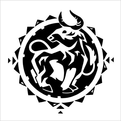 Chinese Zodiac: Bull / Китайский зодиак: бык