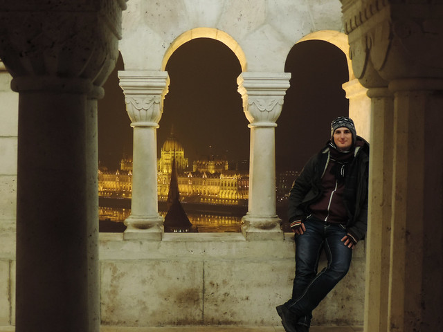 On Cities And Unbreakable Bonds: View from Fisherman's Bastion, Budapest, Hungary