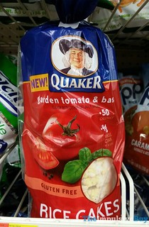 Quaker Rice Cakes Caramel Popped Macros