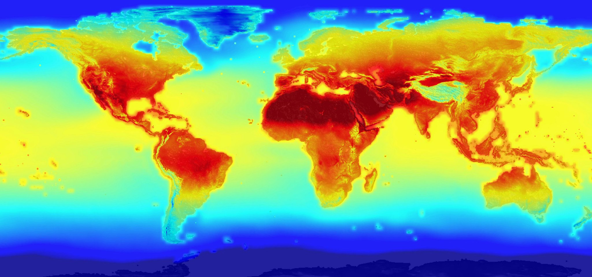 The Earth in 2100 | by sjrankin