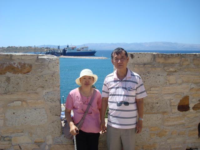 碉堡另一個角度看海