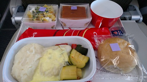 Kenya Airways Economy Class Lunch JNB-NBO | by BertoUCF