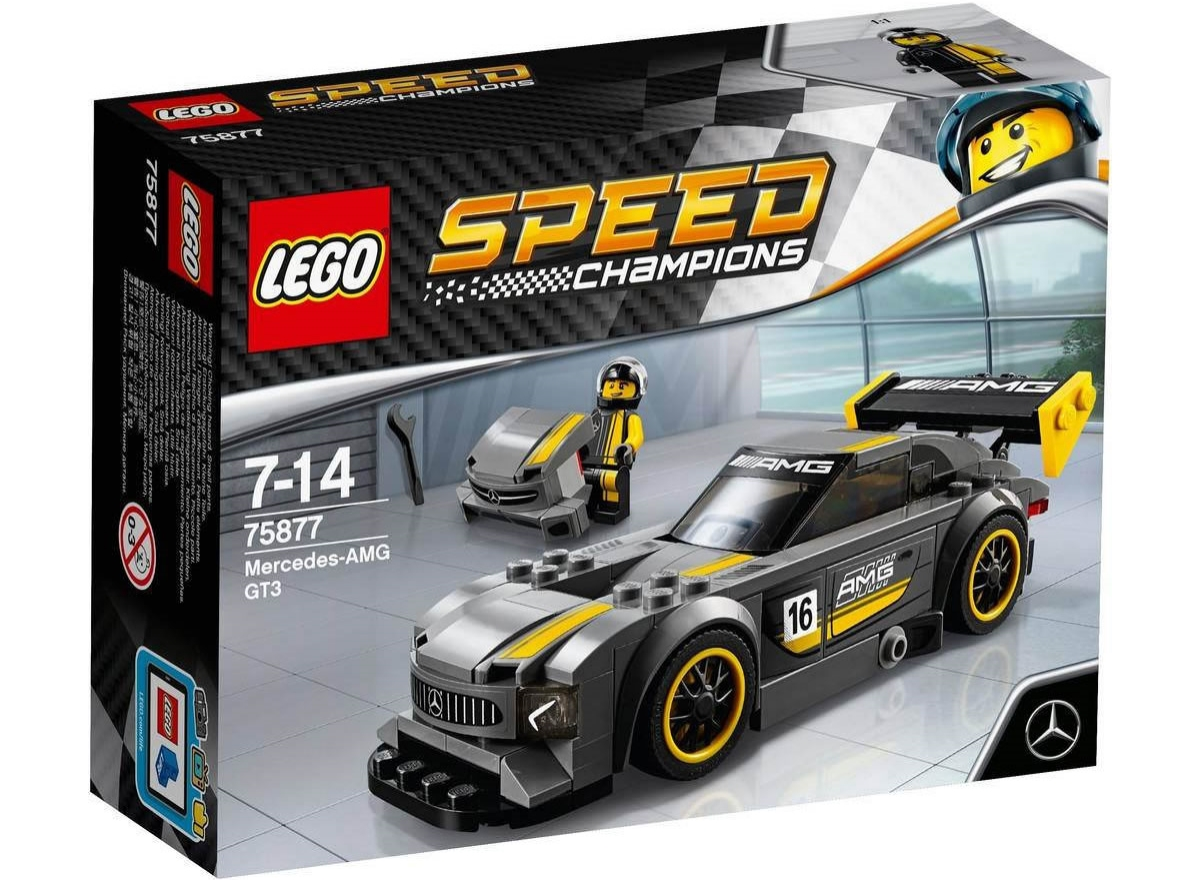 LEGO Speed Champions 75877 - Mercedes AMG GT3