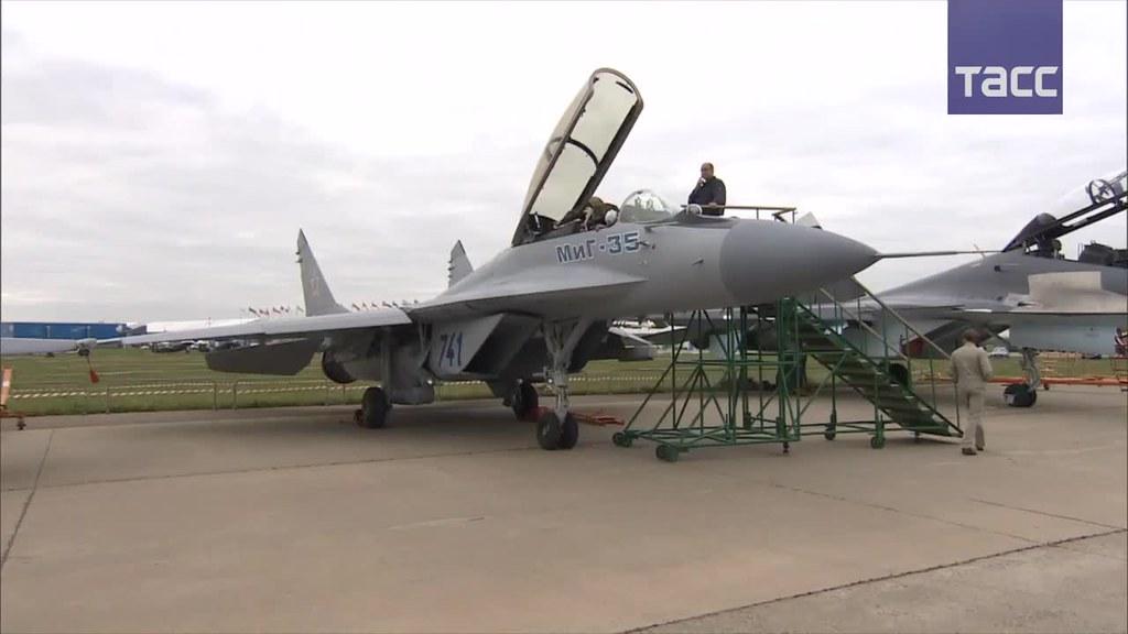 Han comenzado las pruebas de vuelo del avanzado caza ruso MiG-35