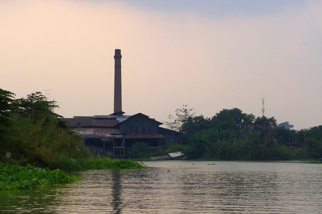 Thaïlande - Ayutthaya - 143 - Sur la Chao Phraya