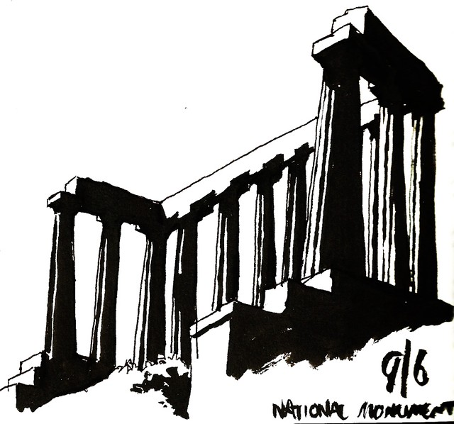 National Monument, ink, 09/06/2015