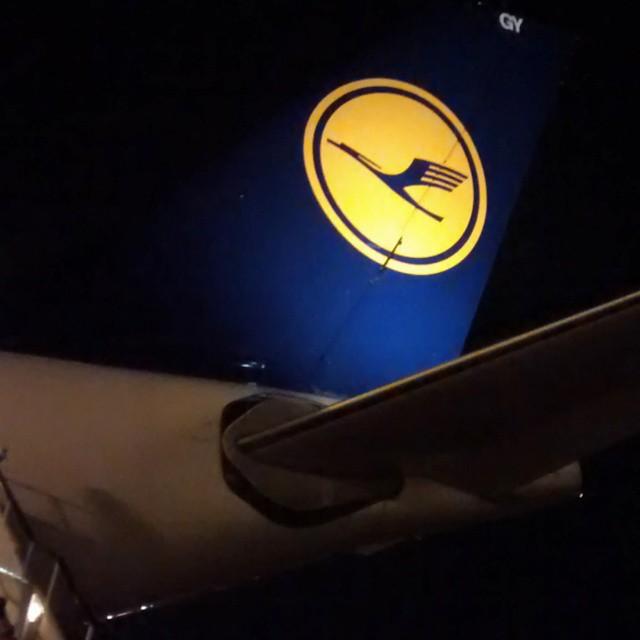 Lufthansa in #Accra #Ghana