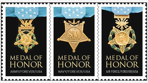 Medal of Honor stamps