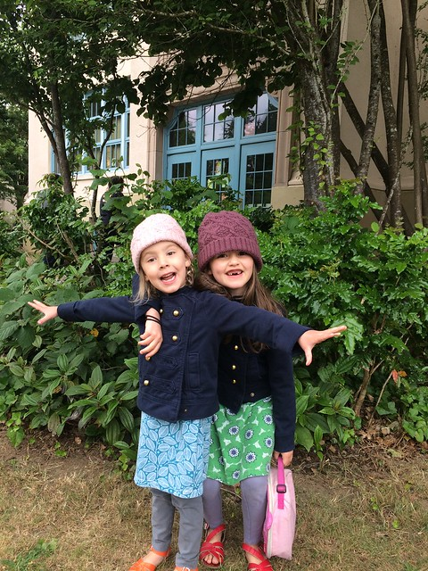 last day of K for cate - crazy girls!